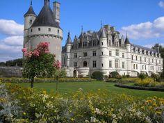 ユーラシア旅行社のフランスのツアーで行くシュノンソー城