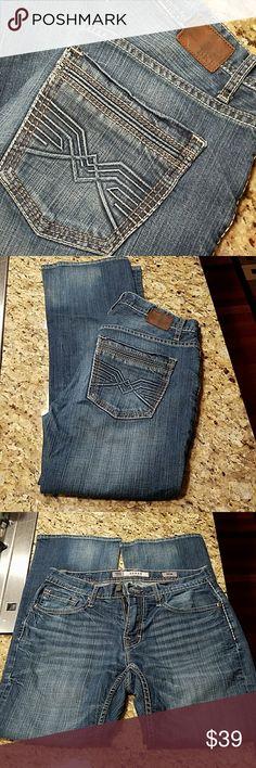 BKE Derek 32R Inseam 32.  No rips. BKE Jeans Bootcut