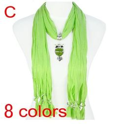 Stylish Charm Accessories Scarf Wholesale For Ladies Canada - Lime Green