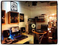 Una esquina de nuestro departamento de grabación en Musik Produktiv