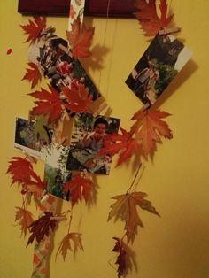 őszi levelek a lakásban