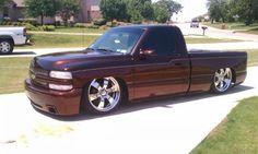 Bagged Trucks, Lowered Trucks, Mini Trucks, Gm Trucks, Cool Trucks, Pickup Trucks, Chevrolet Silverado, Chevy Silverado Single Cab, Silverado Truck
