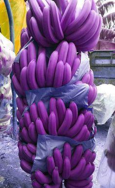 Image result for purple banana