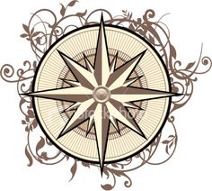 Compass Tattoos, Designs And Ideas : Page 24