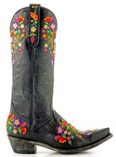 The most beautiful boots I ever did see