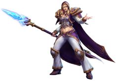 Jaina from Heroes of the Storm