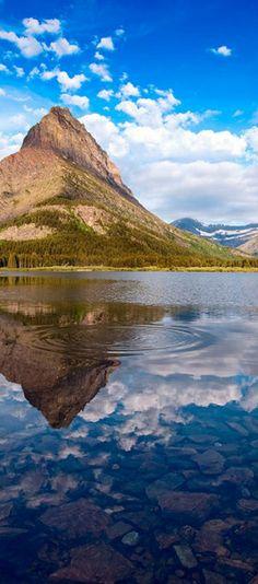 Swiftcurrent Lake in Glacier National Park, Montana   visitglacierpark.com