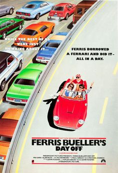 Ferris Bueller's Day Off Movie Poster RARE