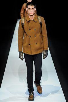 Men's outerwear || Hao Yun Xiang for Emporio Armani