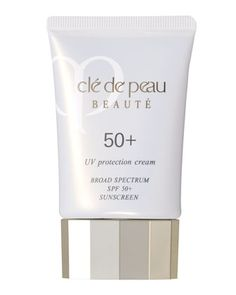 UV Protection Cream Broad Spectrum Sunscreen SPF 50+ by Cle de Peau Beaute at Neiman Marcus.