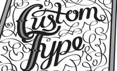 There's more to Illustrator than the Pen tool - Create decorative custom type in Illustrator