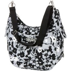 Chloe Convertible Diaper Bag - Evening Bloom by Bumble Bags |... ($99) via Polyvore  Available at www.duematernity.com