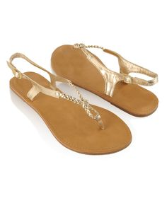 Braided Thong Sandals  $3.99  Forever 21           Braided Thong Sandals  Was:$7.50  Now:$3.99