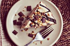 frozen chocolate peanut butter pie-- I have a recipe wickedly similar to this one that I've used for years, and it's DELICIOUS