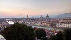 Firenze vista dal Piazzale Michelangelo