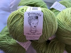 Princess Classic Elite Yarns  Color #3497 Ladylike Leaf ~ All Lot 220 ~ made in Italy by dcoyshouseofyarn on Etsy