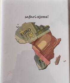 Geldgeschenk Auslandsjahr Afrika Safari, Origami, Cute, Movie Posters, Diy, Camels, Ideas, Travel Gifts, Godchild