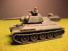 Flames of War, Russian T-34/76 command tank