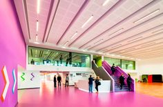 Altro Flexiflow is tough enough to handle high impact areas, yet be flexible enough to move with a building. It gives a uniform and seamless finish with uninterrupted lines, and is self-levelling, which makes installation easy. With 28 colour options it's flexible enough to fit into any design vision.