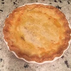 Zucchini Apple Pie - delicious! Added a cup of fresh blueberries, made it that much better!