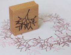 This stamp is made of coated beechwood and premium laser cut rubber which is mounted on an interjacent resilient rubber-foam layer. Size: ca. 44,4 x 46,6 mm To give your stamp a long life, please clean it after each time you use it with a damp cloth. Copyright perlenfischer e.K.
