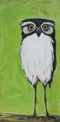 More bird then owl...but still cute
