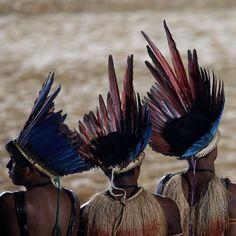 Kuikuro indigenous from Brazil
