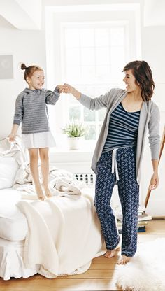 Women's Pima Cotton Loungewear and Sleepwear from @hanna