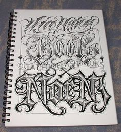 BOOG Norm Tha Union Gangster Chicano Cholo Book Gun Lettering Machine Ink in Other   eBay