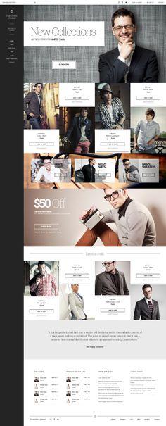 Web design for a shop! #tecnodart #shop #webdesign