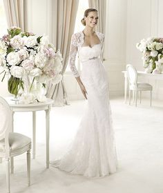 Pronovias Fashion 2013 Wedding Dresses Collection