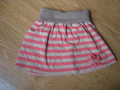 toddler yoga skirt - repurposed