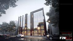 Designed by F2W _나주혁신도시 근린생활시설(2014)