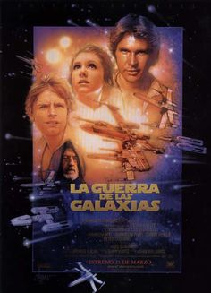 La Guerra De Las Galaxias (Episodio IV), Carteles Cine
