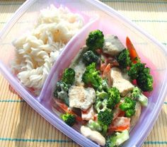 Lunch To Go, Bento, Broccoli, Fitness, Chicken, Vegetables, Recipes, Food, Recipies