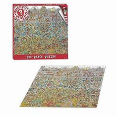 """I'm learning all about USAopoly Where's Waldo? """"The Deep Sea Divers"""" Collector's Puzzle 500 Pcs Ages 8 , 1 ea at @Influenster!"""