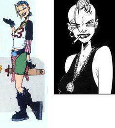 Gallery For > Tank Girl Jamie Hewlett