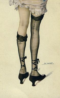 Vintage French postcards by Leo Fontan.