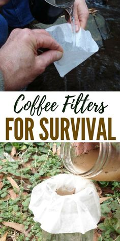 29 Reasons to Use Coffee Filters for Survival - Now I will be first to admit that there are a lot of lists floating around with suggested uses for coffee filters but most include all kinds of uses that are nice, but irrelevant to the prepper.