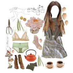 Potted Garden - Polyvore
