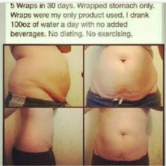 Wow look at her amazing results after using 5 wraps! Awesome or what! Starting today I have a contest on my Facebook Page where you can win a free facial, body wrap and sample of berry greens! Head to www.facebook.com/workingitwithtonnie to enter!