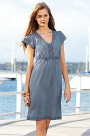 Urban Embroidered Dress