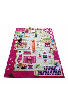 LUCA AND CO Playhouse Play Rug available at #Nordstrom