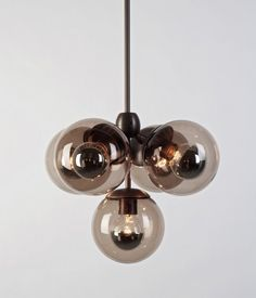 Modo Pendant, 5 Globes $1350.00 #pendantlight