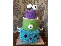 Monster inc birthday cake