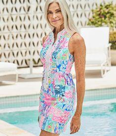 1828e4cedc7a58 Lilly Pulitzer ALEXA SHIFT DRESS Multi Pop Up Summer Remix Patch #fashion # clothing #