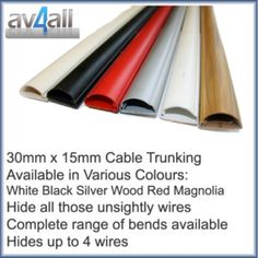 D-Line 50x25 TV Cable Tidy Cover Wire Hide Trunking 25cm, 50cm ...