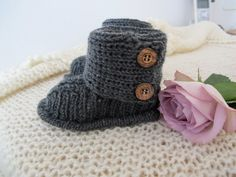 Baby UGGs Pattern in English di hildevesle su Etsy