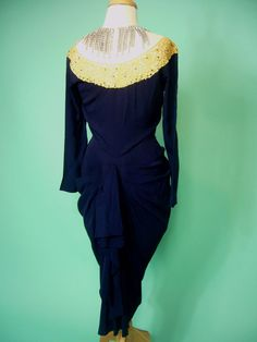 Incredible Original HOLLYWOOD Studio Wardrobe 1950s by Poshporscha, $295.00