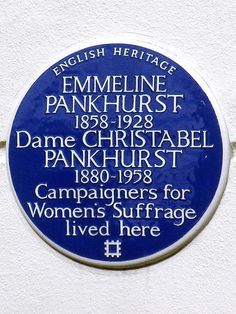 The London locations associated with feminism's foot soldiers.